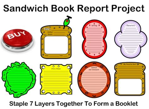 Sample Book Report - 8 Documents in PDF, Word